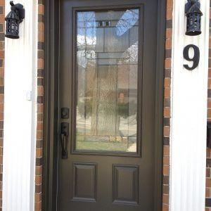 Steel Exterior Front Entry Doors