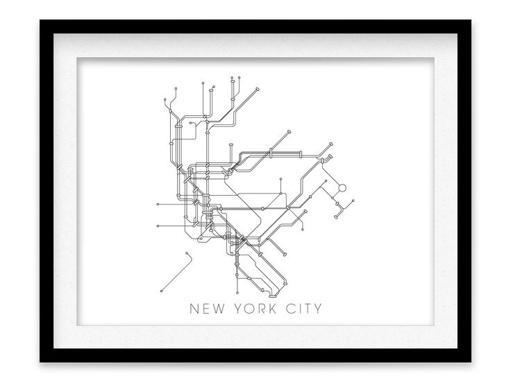 New York U-Bahn Karte drucken - New York-Metro-Plan-Poster von MetroMaps auf Etsy https://www.etsy.com/de/listing/168877489/new-york-u-bahn-karte-drucken-new-york