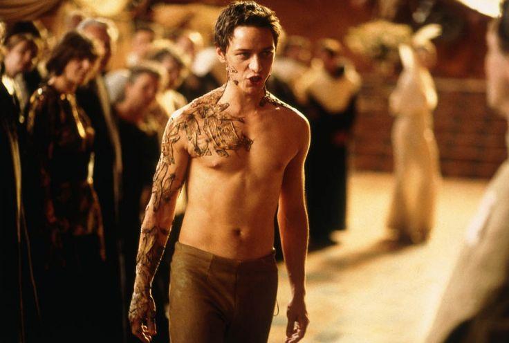 James McAvoy as Leto Atreides II, The God Emperor of Dune in Frank Herbert's The Children of Dune.