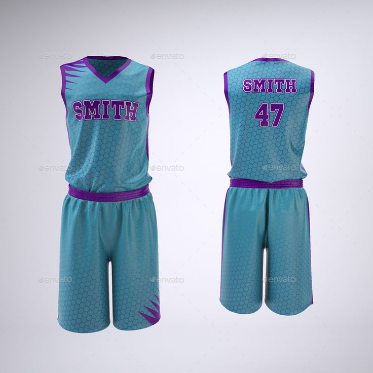 Download Basketball Jersey and Shorts Uniform Mock-Up | Basketball ...
