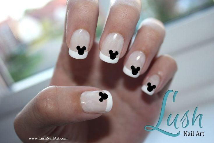 Mickey Mouse Ears Disney Nail Art Water Transfer Decal - Waterslide Paper
