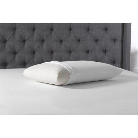 Simmons Beautyrest Latex Pillow, Multiple Sizes, White