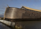 Full-size replica of Noah's Ark: full-scale replica of Noah's Ark in Dordrecht, Netherlands, Monday, Dec. 10, 2012. The Ark has opened its doors in the Netherlands after receiving permission to receive up to 3,000 visitors per day.