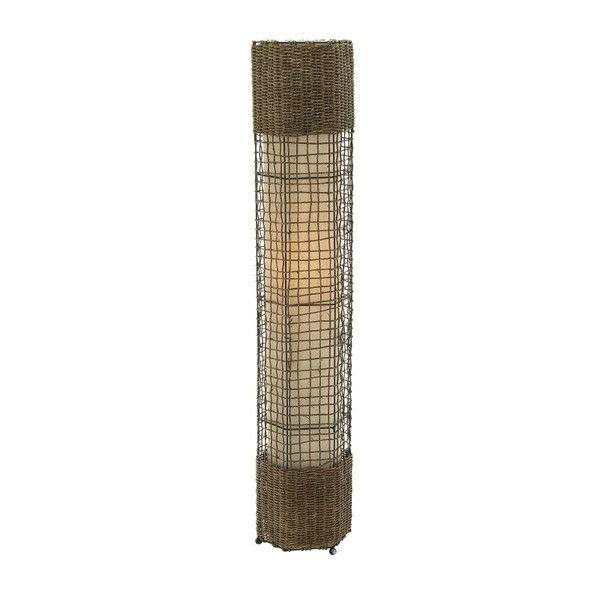 Belle Rattan Floor Lamp
