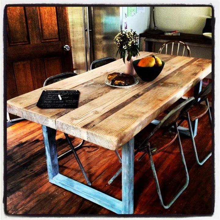 Rustic Modern Kitchen Table: 14 Best Modern Rust :: Rustic Kitchen Tables Images On