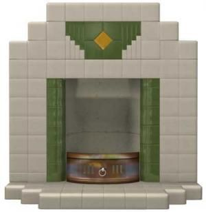 Wyndham Tiled Art Deco Fireplace