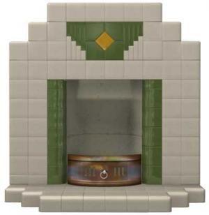 Wyndham Tiled Art Deco Fireplace