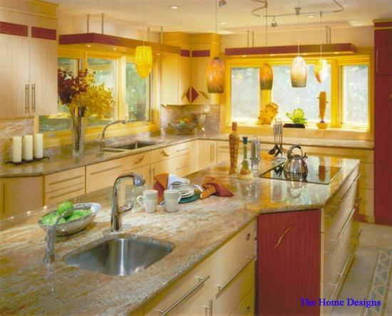 Die besten 25+ Yellow kitchen wallpaper Ideen auf Pinterest Rosa - sonne scheint gelben kuche