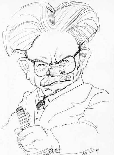 Elias Canetti [1905-1994] Escritor y pensador en lengua alemana, Premio Nobel de Literatura en 1981