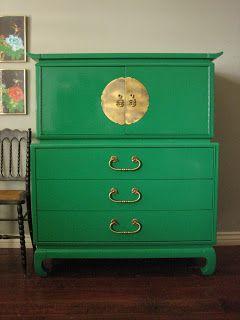 rich green color