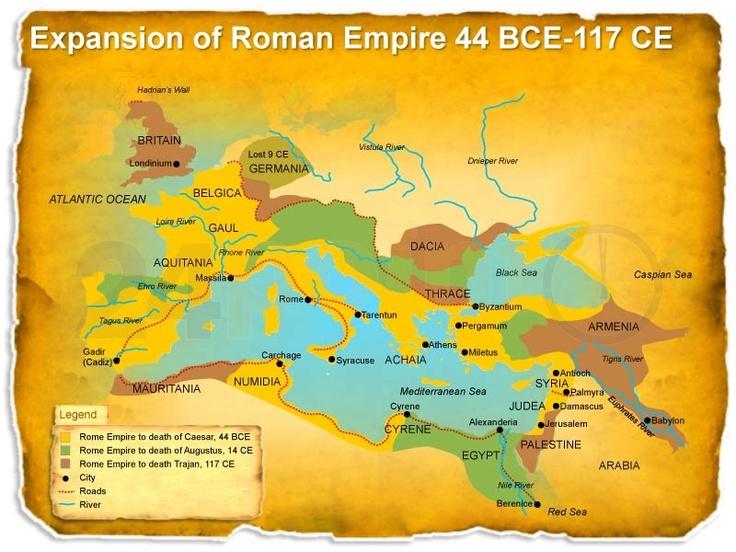 Best Roman Empire Map Ideas On Pinterest Roman Empire Roman - Map of rome under trajan
