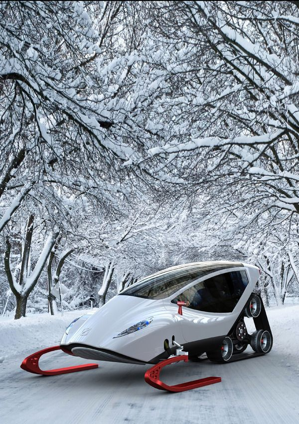 bad-ass snowmobile