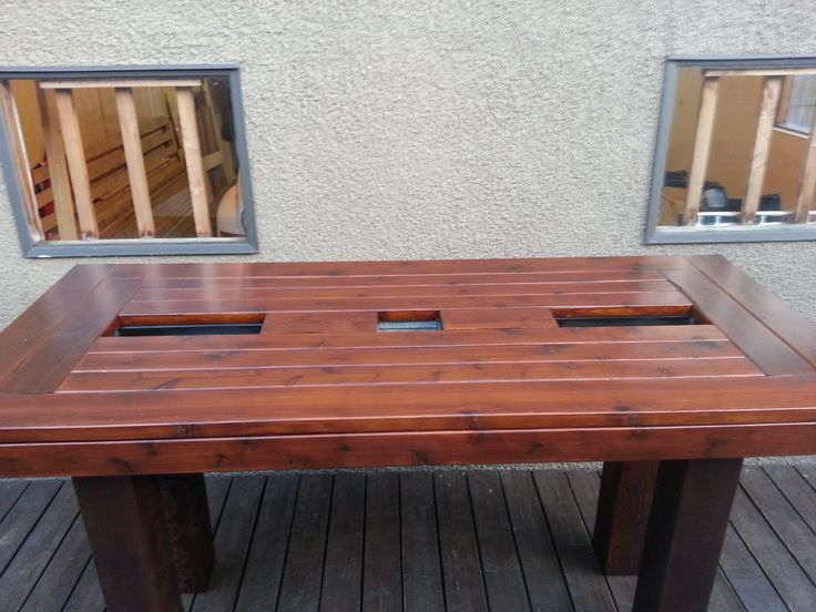 Do It Yourself Outdoor Bar: 13 Best Patio Table Images On Pinterest