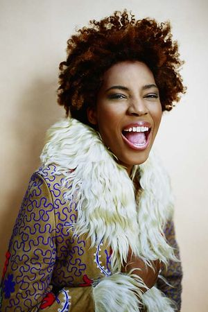 Macy Gray is an American R&B and soul singer-songwriter, musician, record producer, and actress, known for her distinctive raspy voice, and a singing style heavily influenced by Billie Holiday and Betty Davis