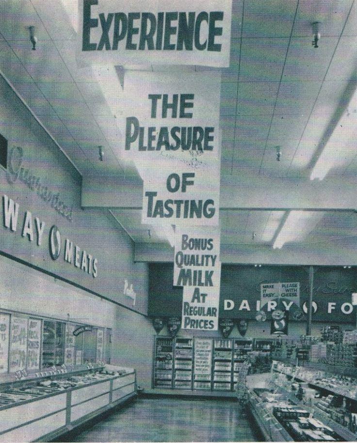 Safeway early 1960s East BaySan JoseStore
