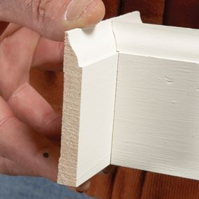How to Cope Baseboard Trim with a Miter Saw Cope baseboard corners fast
