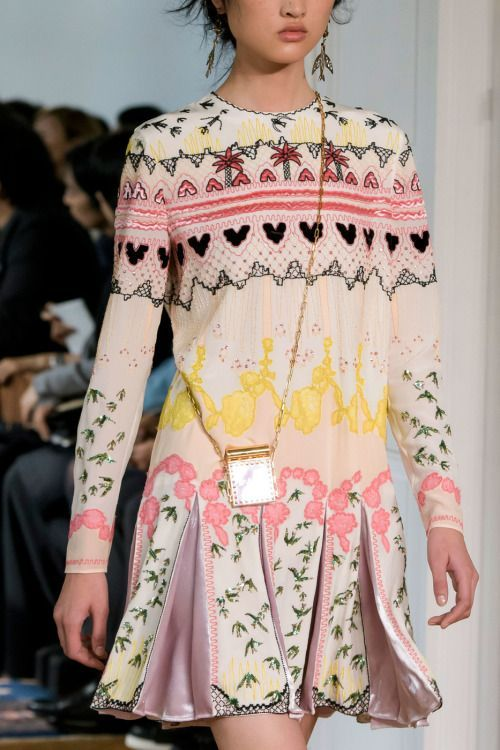 Valentino | Paris Fashion Week | Spring 2017   Let your imagination take flight + your personal style be inspired.   We have a total fashion crush!