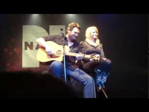 "Blake Shelton and Miranda Lambert, ""Over You"""