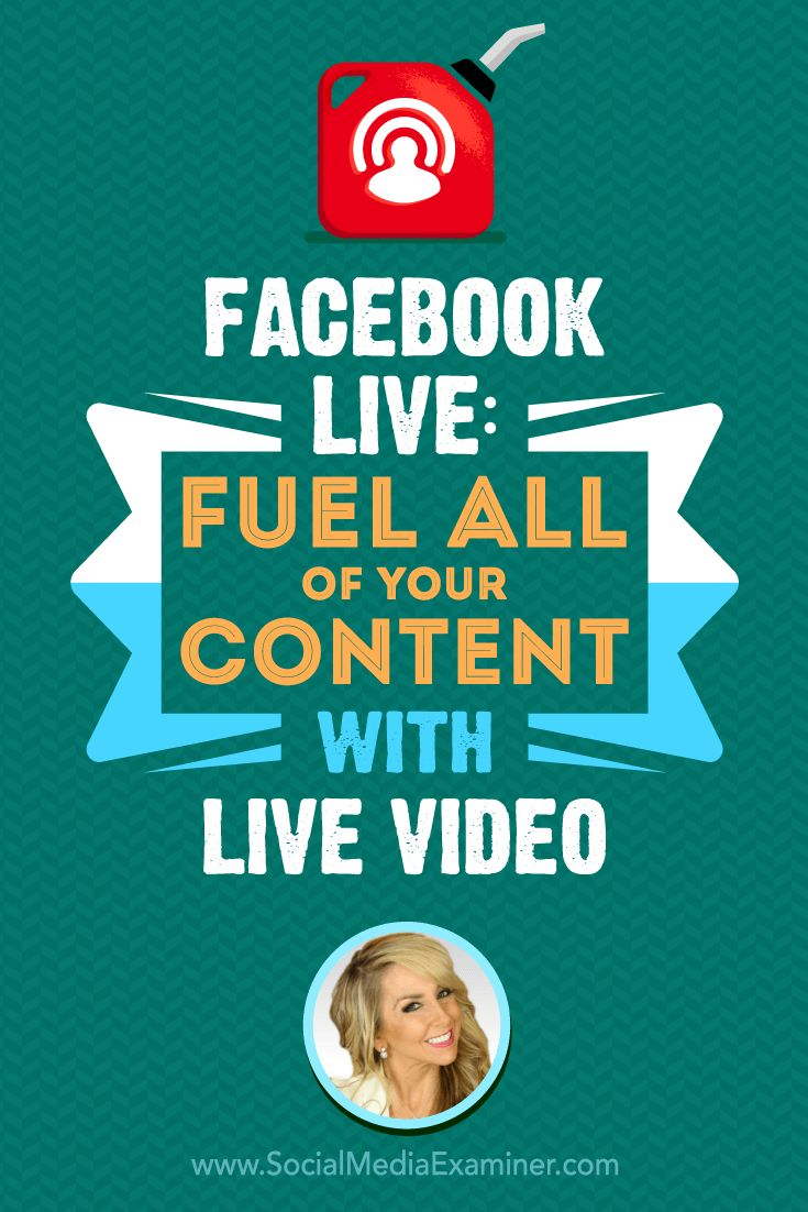 Do you broadcast on Facebook Live?  Want to discover how to use your videos to create more content?  To explore why Facebook Live is a path to success for creators, Michael Stelzner interviews Chalene Johnson (@chalenejohnson). Via @smexaminer.