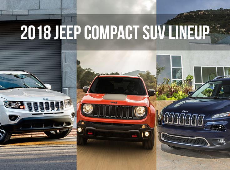 2018 Jeep Compact SUV Models and Highlights