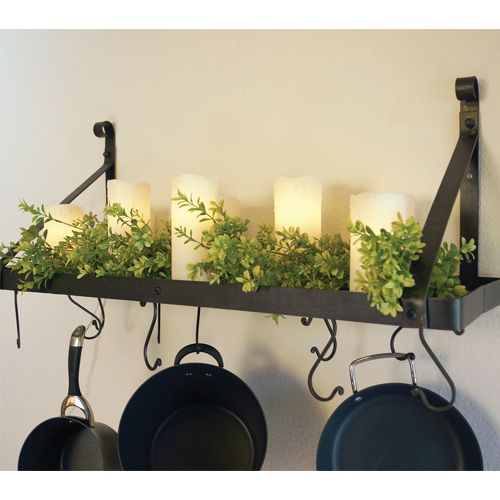 20 best Pot Racks images on Pinterest | Wall mount, Pot racks and ...