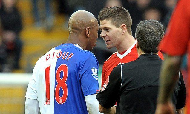 El Hadji Diouf takes another swipe at Steven Gerrard