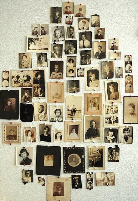 Mur des vieilleries.