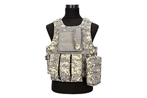 Coobl Tactical Molle Airsoft Vest Paintball Combat Soft Vest (ACU) https://besttacticalflashlightreviews.info/coobl-tactical-molle-airsoft-vest-paintball-combat-soft-vest-acu/