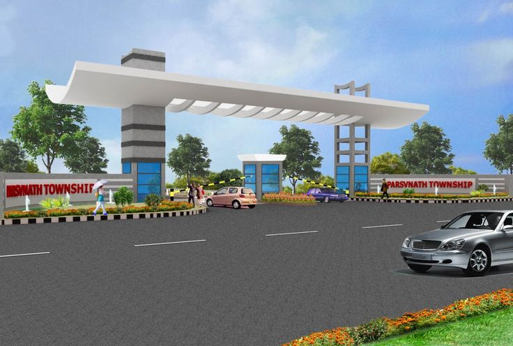 Main Gate Designs For Apartments Entrance gate design for township ...