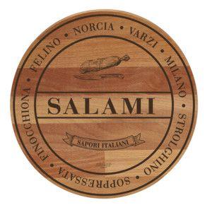 Lopárik z bukového dreva Broad Salami, 30 cm