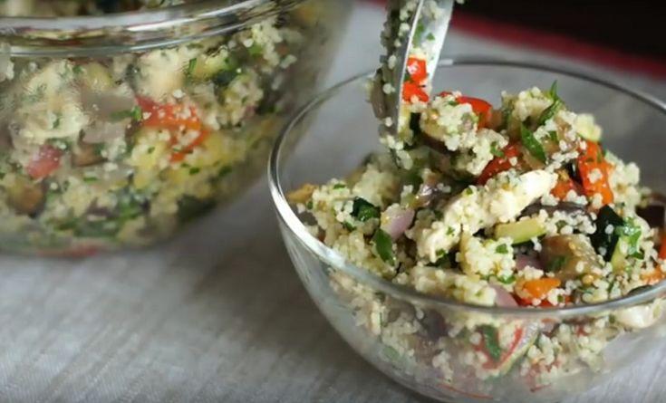 Невероятно вкусный салат «Табуле»