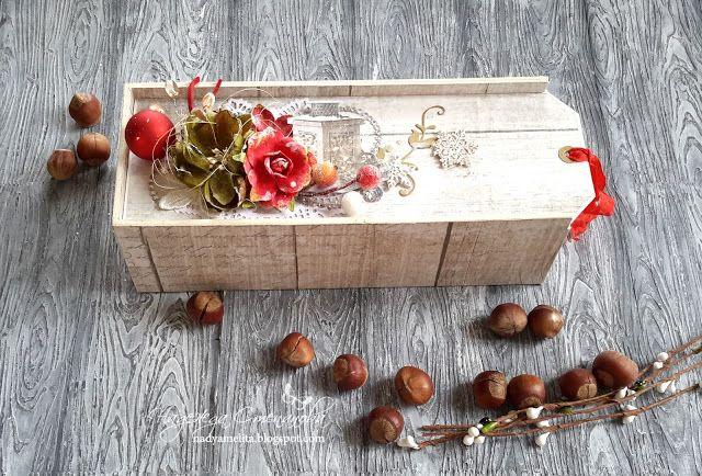 FLEUR design Blog: Подарочная коробочка-пинал. МК от Надежды Степановой.