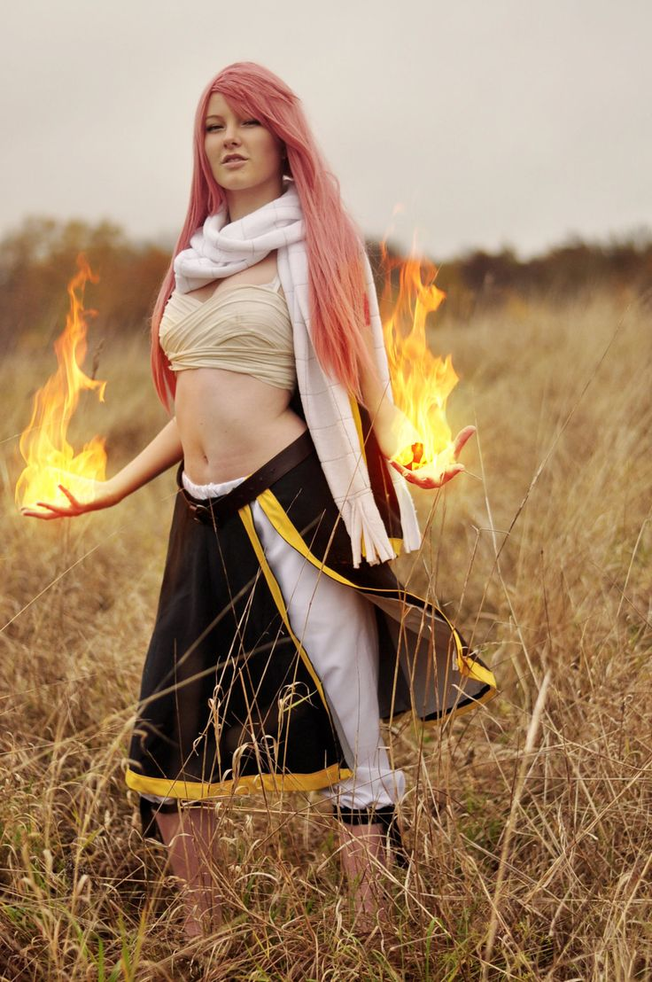 Natsu Dragneel (from Fairy Tail) #Anime #Rule63 #Cosplay (Me: Gender ender N-Natsu? O-OK... kinda cool! Different...)
