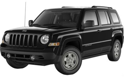 Black Clear Coat Exterior Paint 2014 Jeep Patriot  Sport