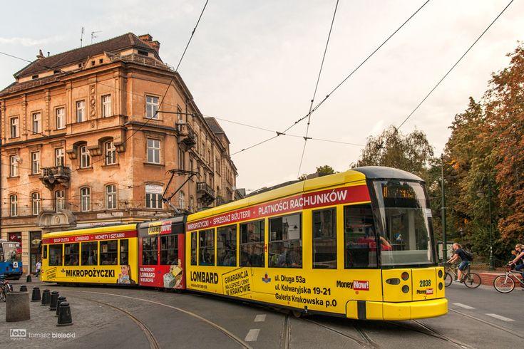 Kraków, tramwaj Bombardier NGT6 #2038 - #Kraków, #tramwaj, #tram