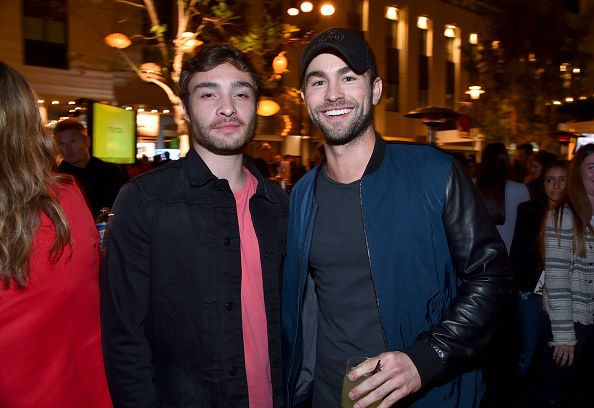 "Chuck Bass and Nate Archibald reunited at the City Year Los Angeles ""Spring Break"" fundraiser this weekend, and it's everything you thought it would be. 