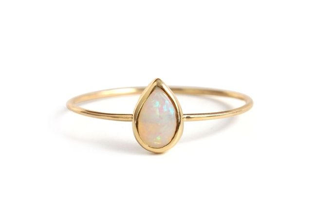 15 Stunning Opal Jewels You'll Stare At All Day via Brit + Co.