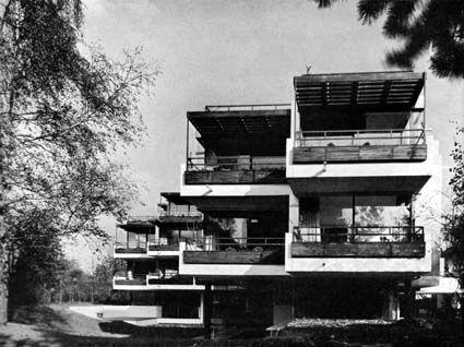 Architektur der 50er 60er 70er | Erich Schneider-Wessling | ehem. Gästehaus der Alexander-von-Humboldt-Stiftung, Bonn-Bad Godesberg | 1964-1966