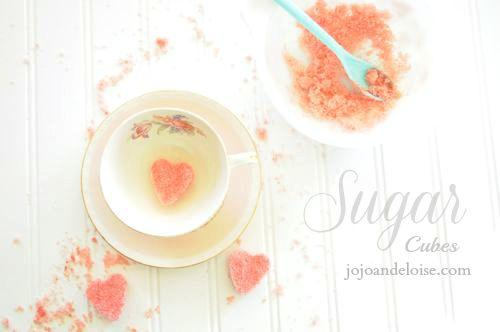 how to make sugar cubes in the microwave