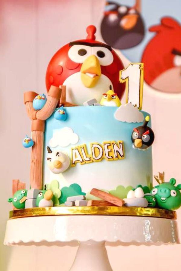 Angry Bird Birthday Party Ideas With Images Bird Birthday