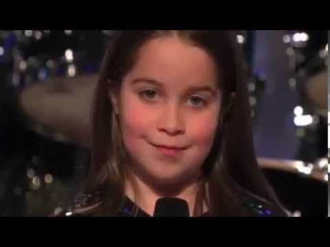 America's Got Talent 2013 Audition - 6 Year Old Aaralyn Scream Her Original Song Zombie Skin new America's Got Talent 2013 Audition - 6 Year Old Aaralyn Scre...