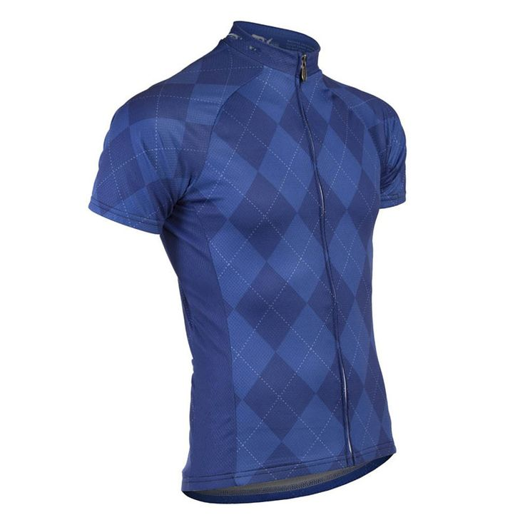 High Quality 5 Colors Lattice Short Sleeve Cycling Bike Jersey Roupas de Ciclismo Breathable Cycling Clothing Bicycle T-shirt #Affiliate