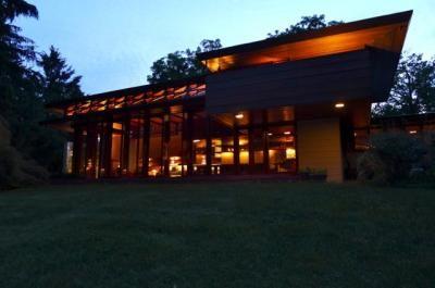 "Frank Lloyd Wright  ""Bachman Wilson House"""