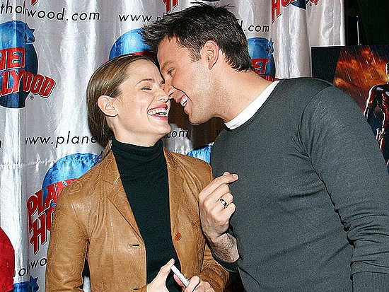 Ben Affleck & Jennifer Garner...dammit, I wanna hate them, but they are just too cute together! I dont even wish anything bad to happen to her so that he could be mine!
