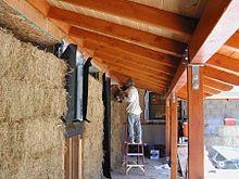Straw-bale construction - Wikipedia, the free encyclopedia