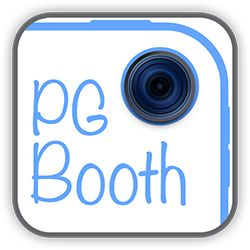 PG Booth, the best diy ipad photo booth app for parties and weddings, logo