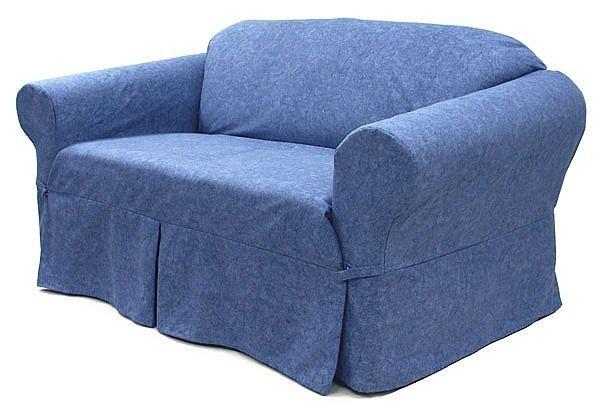 How To Make DIY No Sew Sofa Slip Covers