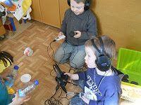 audiovisueel werken met kleuters: Dag 5: Uittekenen van een geluid en geluiden opnemen met Ploffer de geluidskoffer