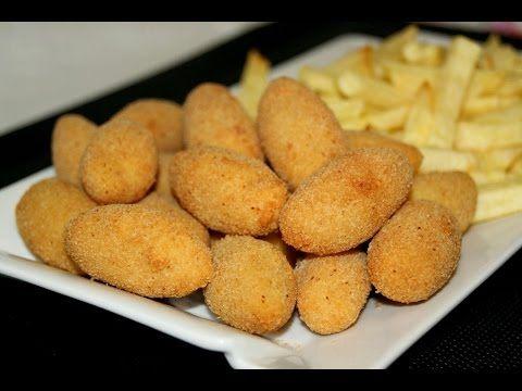 Cómo hacer croquetas de pollo asado - YouTube