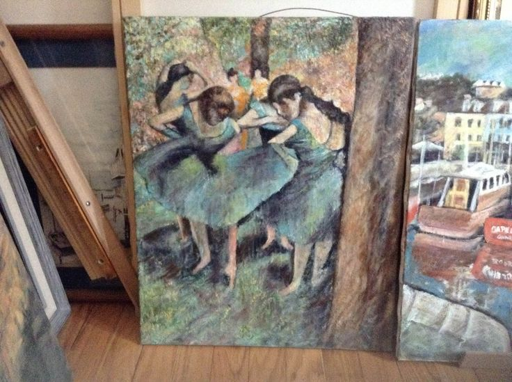 Almost finished copy of Degas http://www.johnmcglynn.foxroach.com/